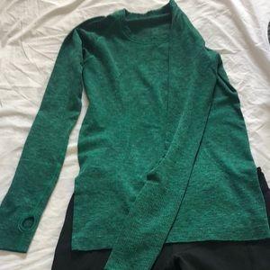 Lululemon GREEN LONG SLEEVED shirt!